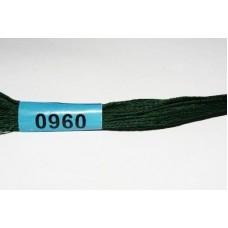 Нитки мулине для вышивания Гамма 0960
