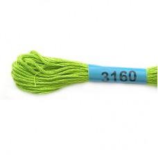 Нитки мулине для вышивания Гамма 3160